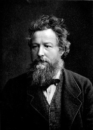 Portrait de William Morris du mouvement Arts & Crafts