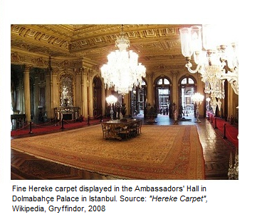 Turkish Ambassador's Hall Carpet