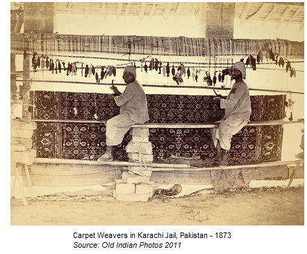Pakistani Jail Carpet Weavers