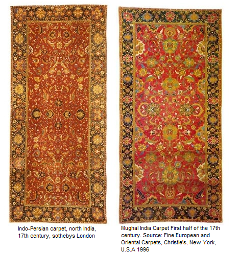 Indo Persian carpets