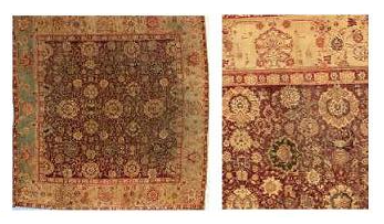 Indian jail rugs from the Mughal Empire