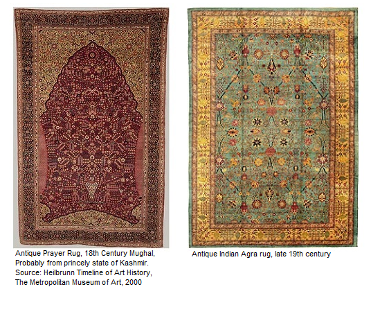 Antique Indian carpets