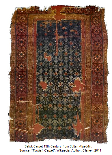 Antique Seljuk Carpet