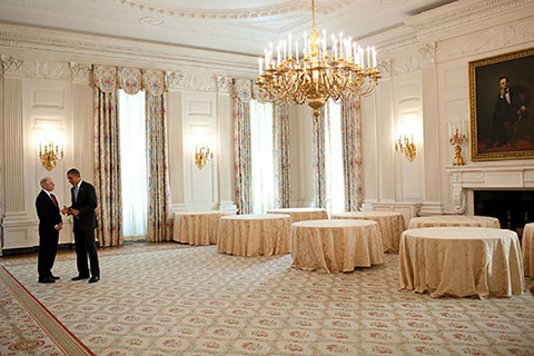 White House State Dining Room Rugs   Bashir Persian Rugs