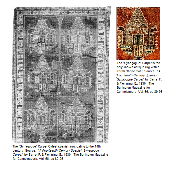 Antique Synagogue Carpets