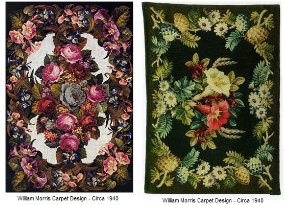 William Morris Carpet Designs