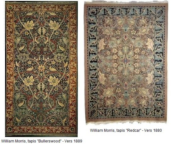 Tapis William Morris