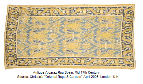 Antique Alcaraz Carpet