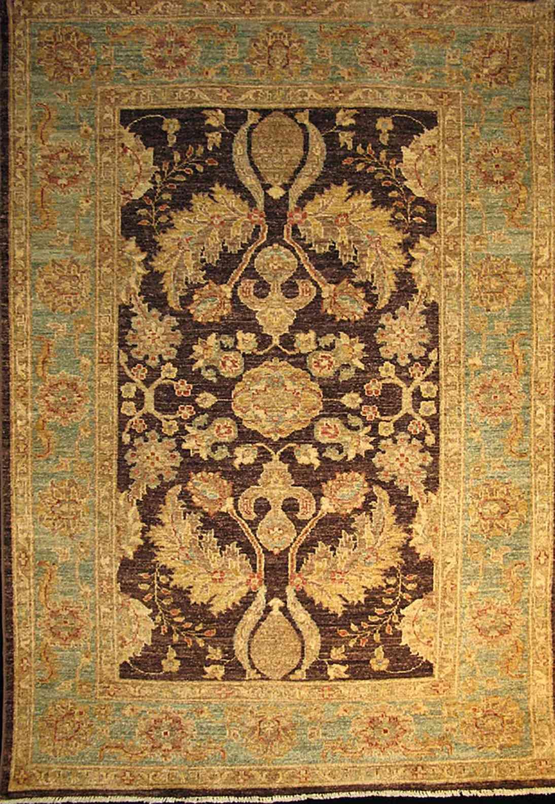 Oushak 5 8 X 4 1 Montreal Carpet Store Bashir Persian